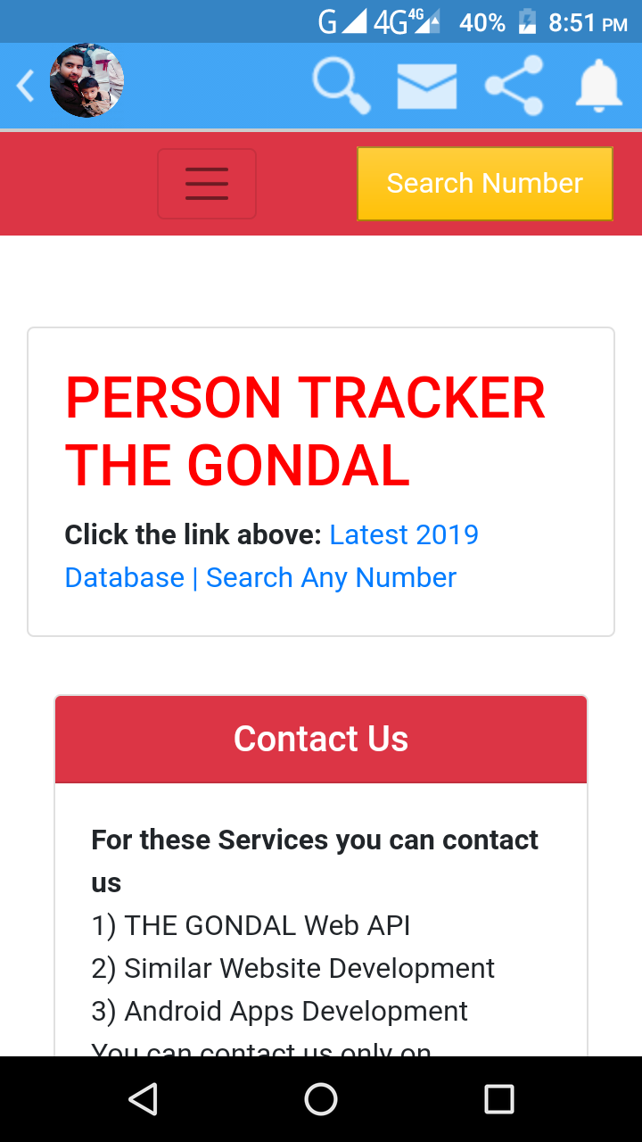 Mobile Tracker App - Mobile Phone Tracker - THE GONDAL APK