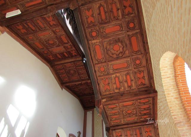 Castillo Belmonte escalera volada