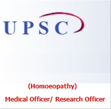 Online Recruitment for the Post of Medical Officer/ Research Officer