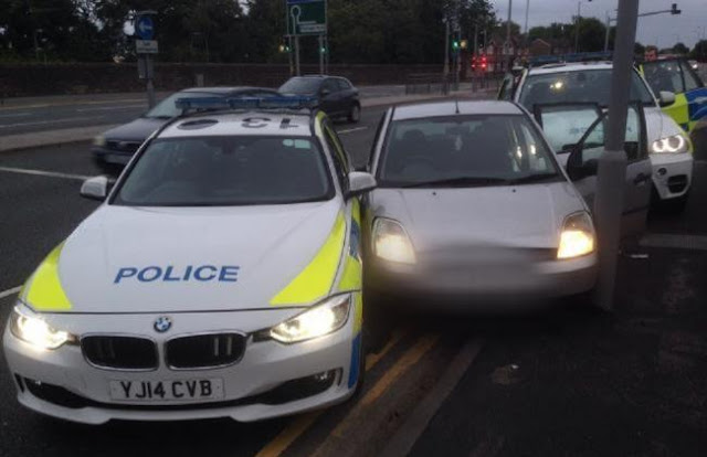 'Don't come to Bradford in a stolen car and drive dangerously' warn police