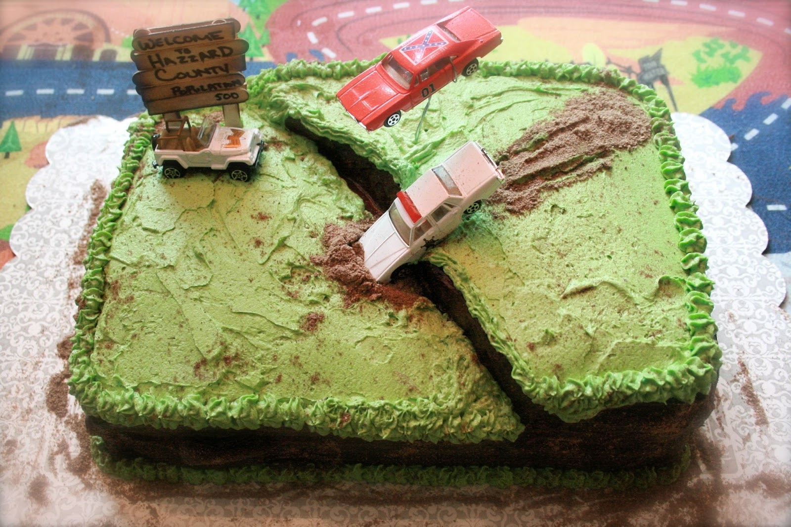The Dukes Of Hazzard Birthday Cake
