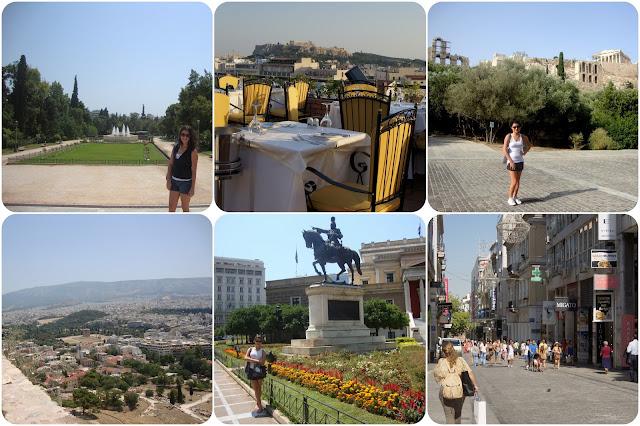 Grécia / Atenas / Partenon / Erecteion / Acrópole / Templo