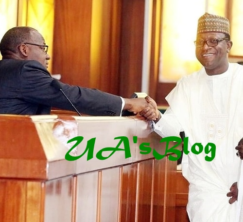 Photos Of Abdulmumin Jibrin As He Resumes Work After Suspension For 180 Legislative Days