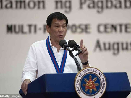 Duterte Orders Philippine Police Out Of Anti-Drug Campaigns