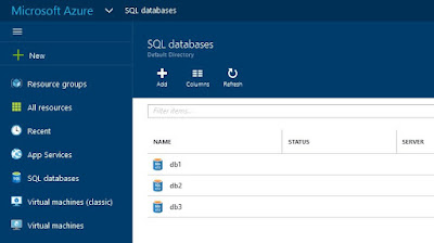 Microsoft Azure ® Bases de Datos elásticas