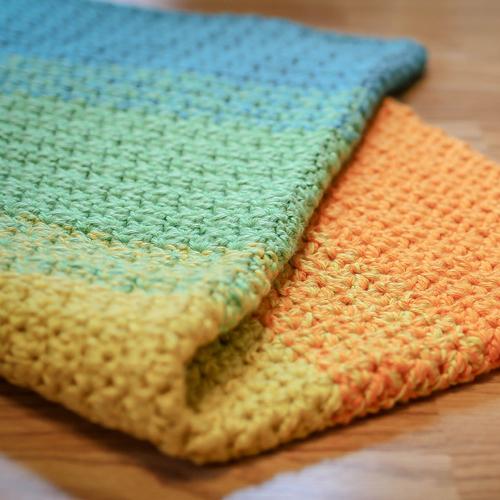 Baby's Best Bumpy Blanket - Free Pattern