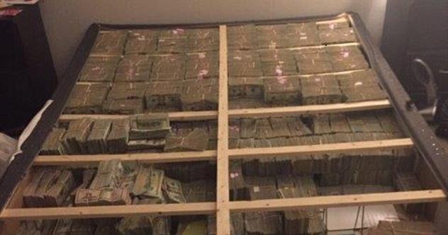 Amazing stories around the world 20million cash found hidden inside