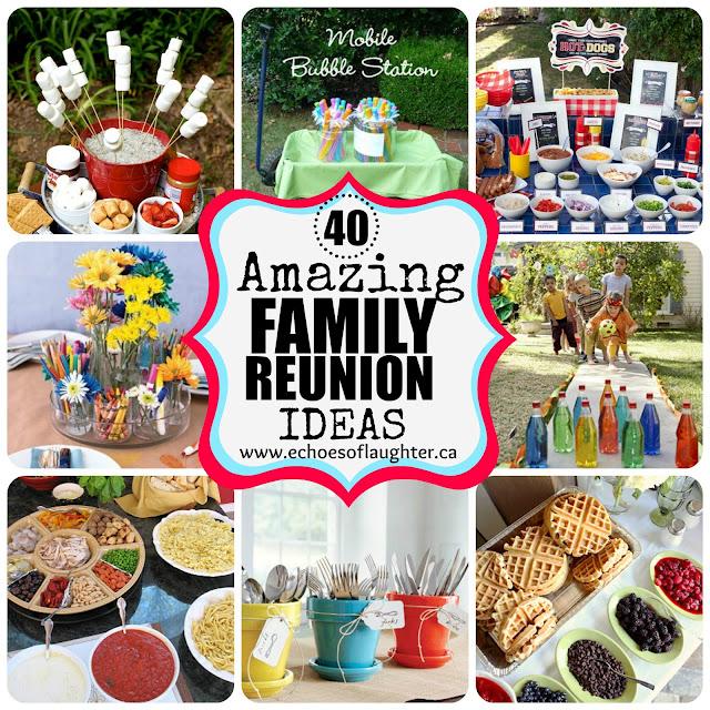 Outdoor Family Reunion Picnic Food Ideas