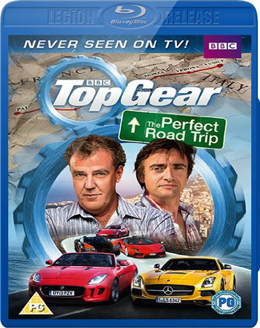 Top Gear The Perfect Road Trip 2013 BluRay 720p 600MB