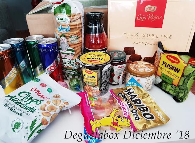 Degustabox Diciembre ´18