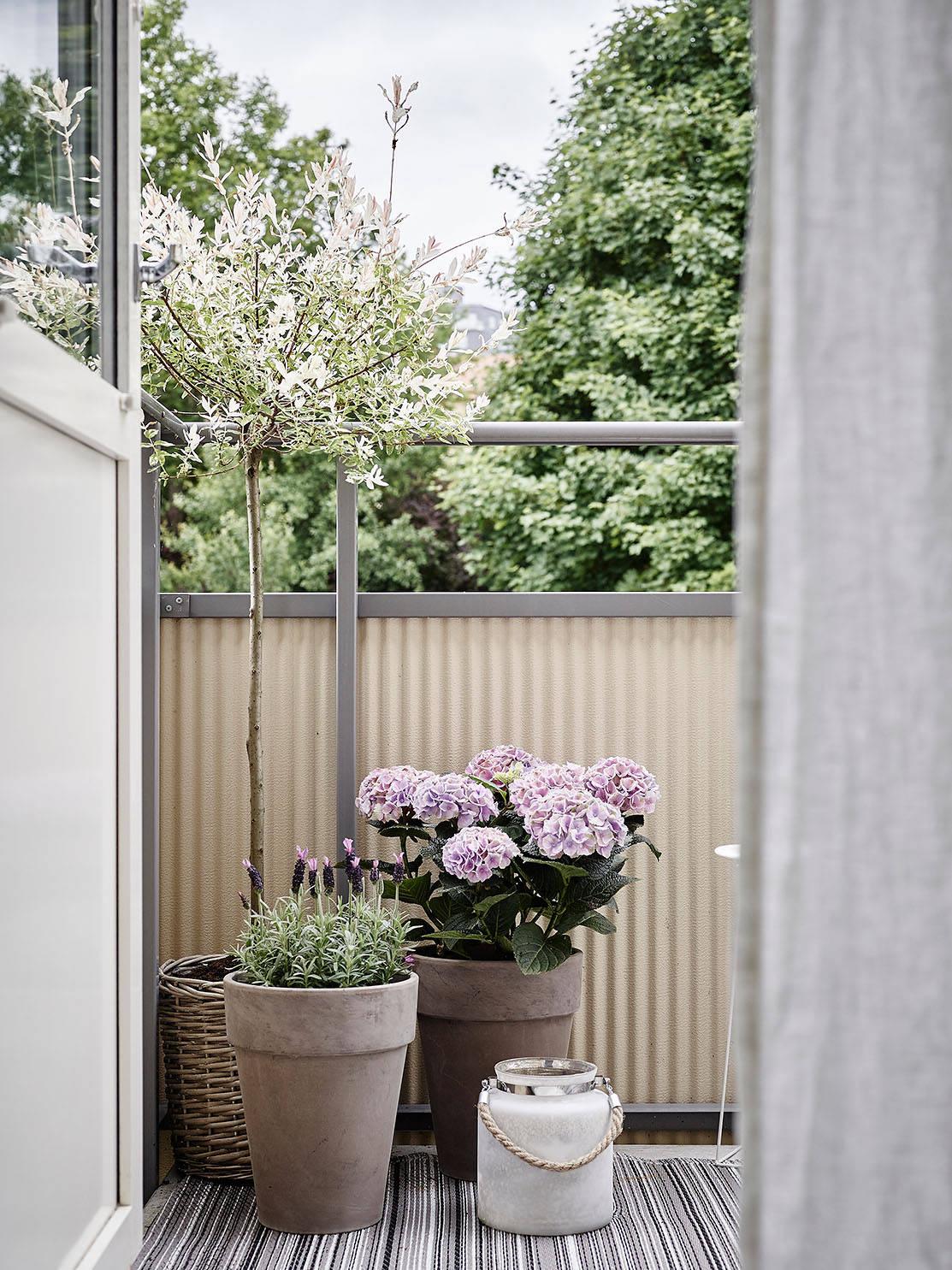 balkon, sposoby na mały balkon