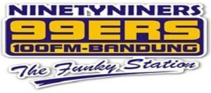 Radio 99ers 100 fm Bandung Keep Fungky Be Yourself No matter What They say