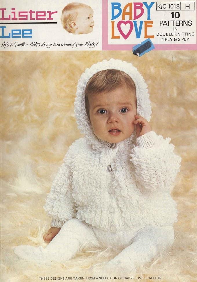 Tricô Baby Lister Lee -Revista