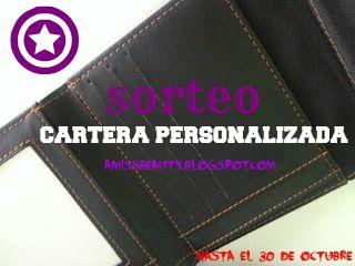 bf91ea258 Miss Beauty: ♢ SORTEO Cartera Personalizada a Tu Gusto ♢ CERRADO