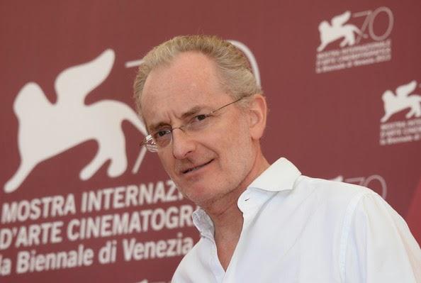 Uberto Pasolini à la Mostra de Venise, en 2013, où il a obtenu le prix Horizons de la réalisation.