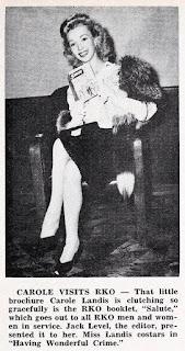 Carole Landis 1945
