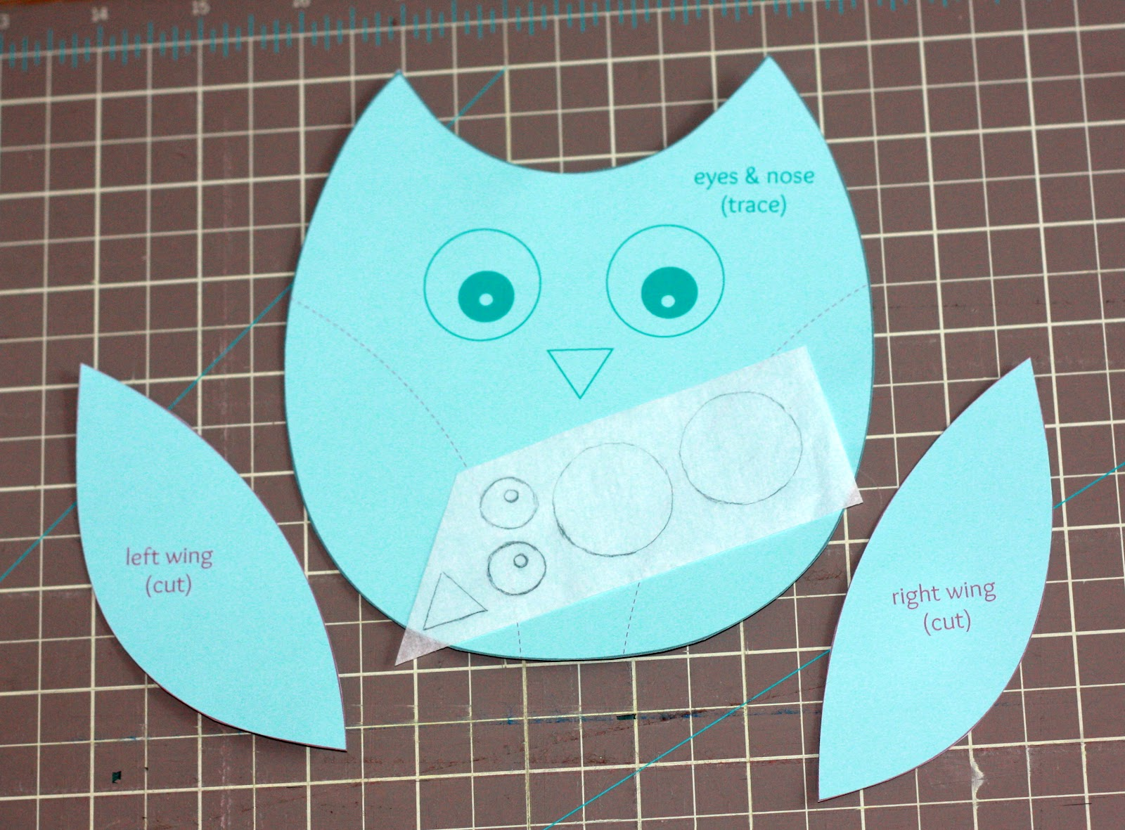 Silhouette Design Store - View Design #12422: owl cutout   Owl Tracing For Cut Out