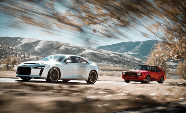 Super Cars Audi Histori