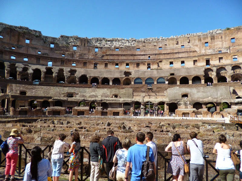interior do Coliseu, térreo
