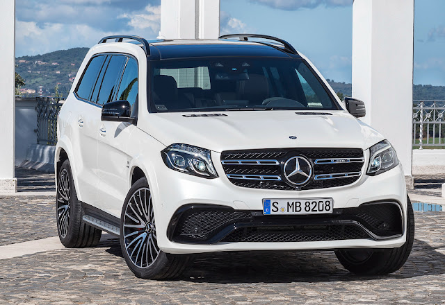 2016 Mercedes GLS 400 4MATIC white HD Images