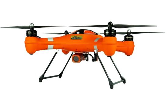 Splash Drone Fisherman