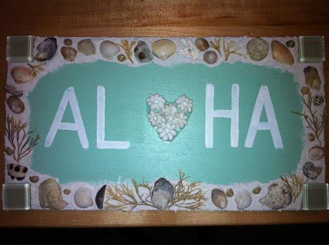Kailua Beach Signs: Shabby Chic Beach crafts - affordable ...