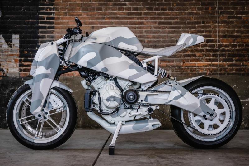Custom MAGPUL RONIN motorcycle 1
