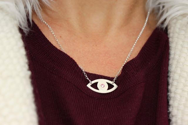 look du jour, bijoux oeil, short sinequanone, les petites bulles de ma vie
