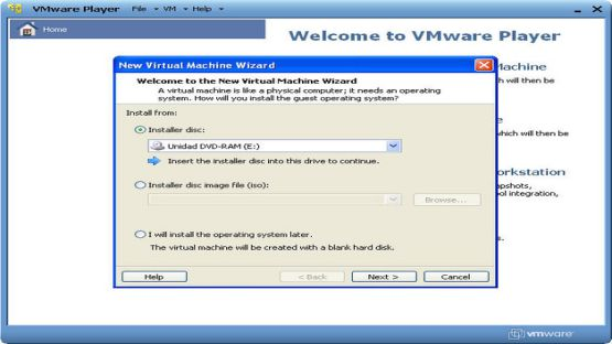 VMware Player screenshot 2