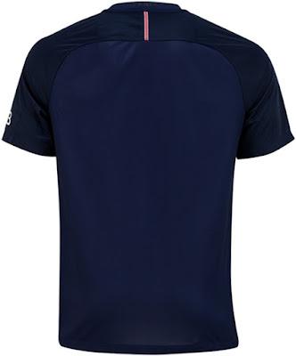 Nike PSG 16-17 SS Home Vapor Match Shirt - Midnight Navy, Black