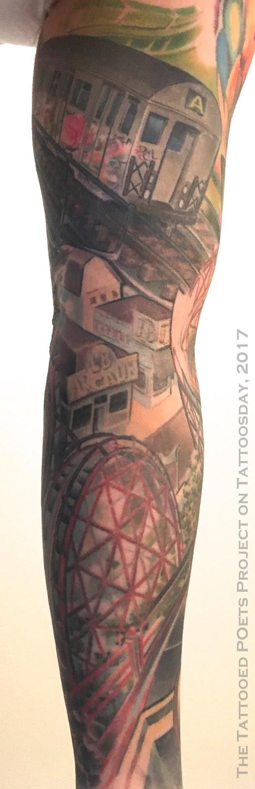 Ryan Black's Sleeve Recalls the Rockaways (The Tattooed Poets Project)