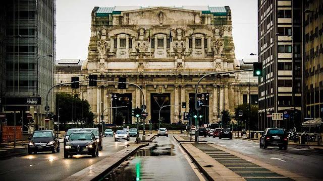 Milano Stazione Centrale, Via Pisani