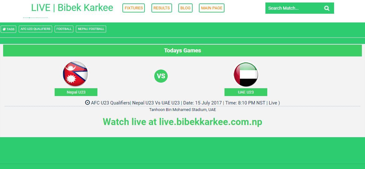 Preview | Nepal U23 Vs UAE U23 | AFC U23 Qualifiers 2018