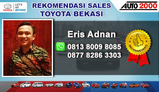 Rekomendasi Sales Toyota Auto 2000 Jatiasih Bekasi