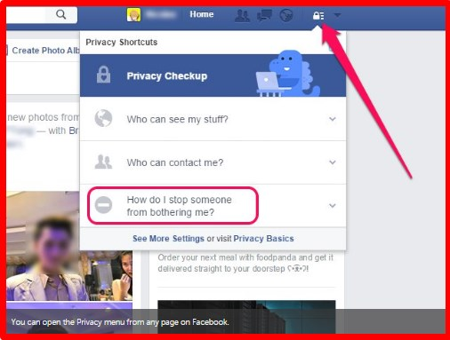 how to unblock on facebook app