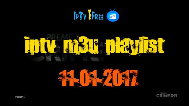 iptv m3u playlist 11-01-2017