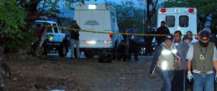 Fin de semana deja diez ejecutados en Morelos