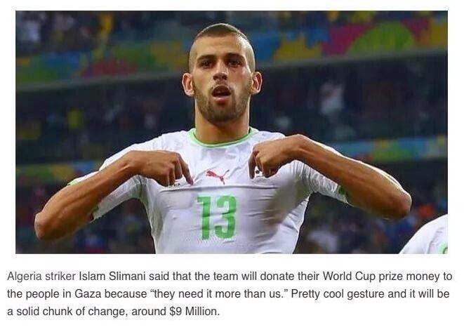 Donate World Cup Prize to Gaza