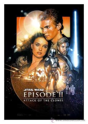 """Cartel de """"El Ataque de los Clones"""""""