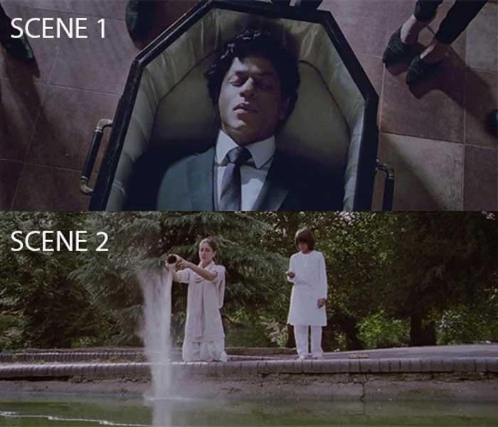 Ra One Movie Mistake