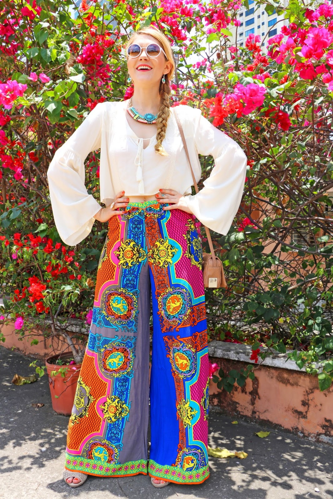Colorful Boho Outfit for Summer