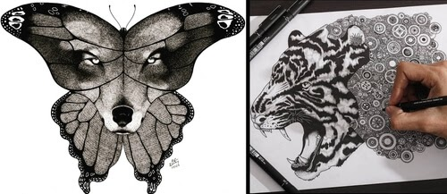 00-Animal-Drawings-Rocky-Villaruel-www-designstack-co