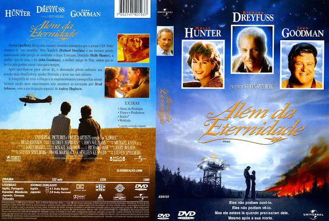 Capa DVD Além da Eternidade