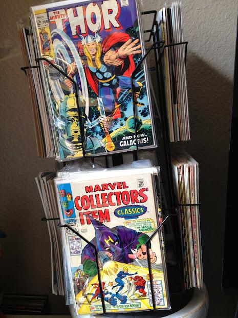 Comic Book Spinner Rack