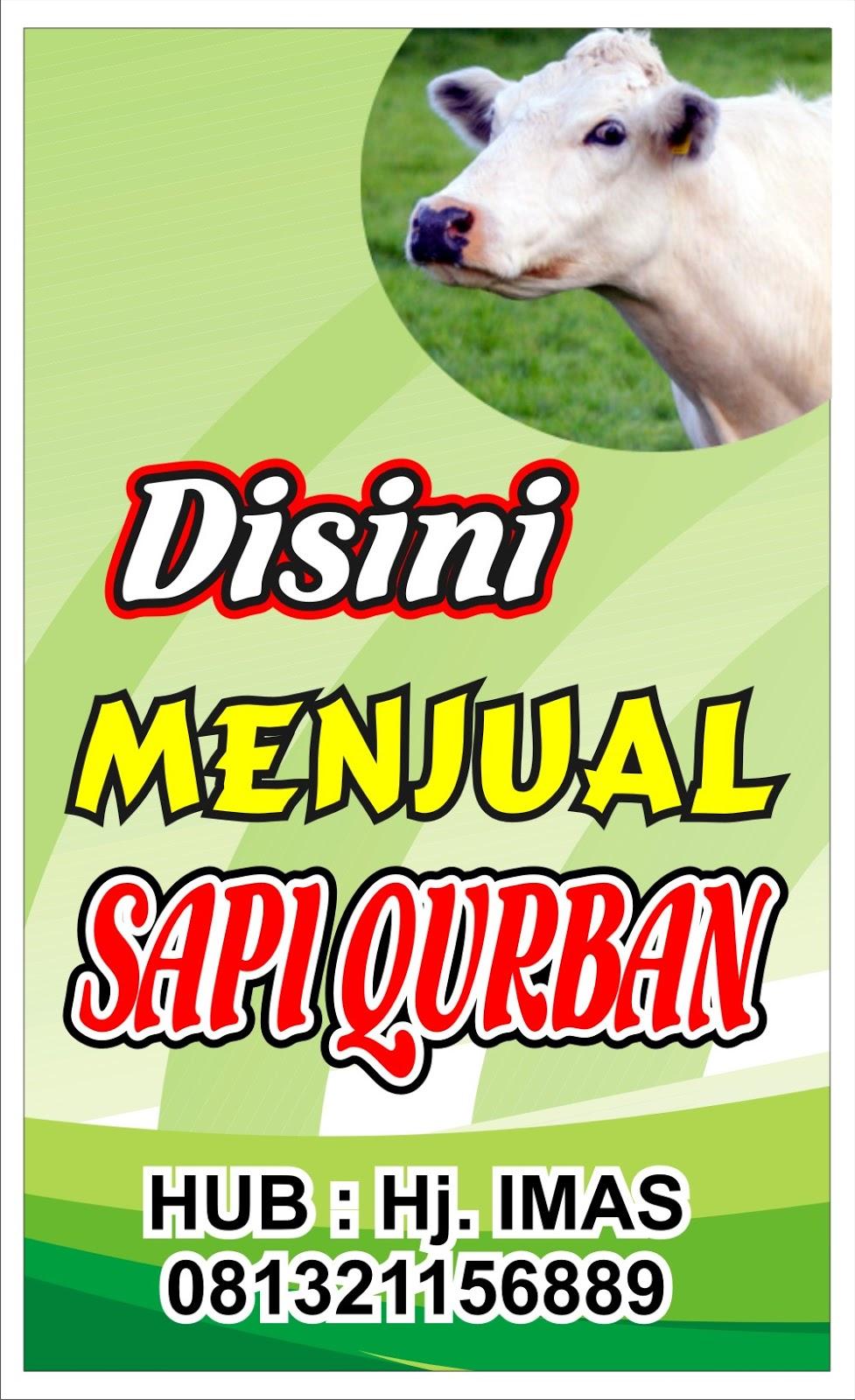 Download Contoh Spanduk Jual Hewan Qurban.cdr - KARYAKU