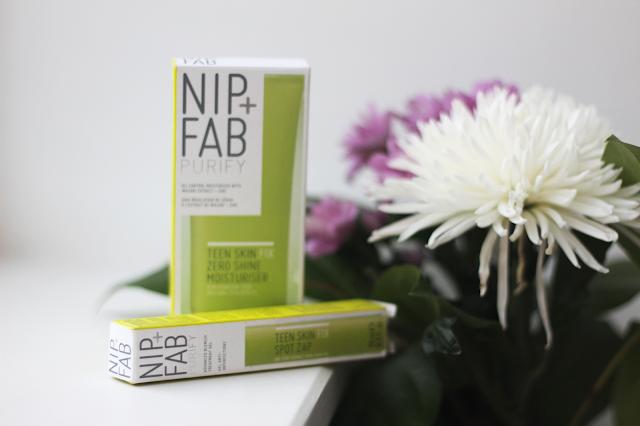 nip+fab teen skin blog review