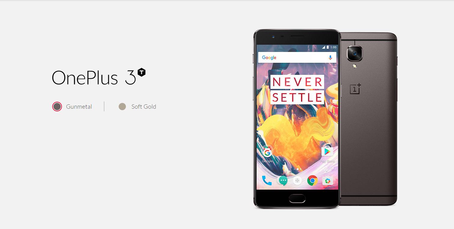 Här är OnePlus 3T