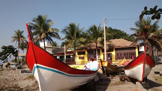 Restaurante Tia Lena, em Itanhaém