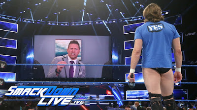Daniel Bryan The Miz SummerSlam SmackDown SmackTalk
