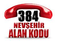 0384 Nevşehir telefon alan kodu